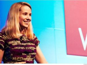 Awkward! Yahoo's Marissa Mayer Speaks at Great Place to Work Conference