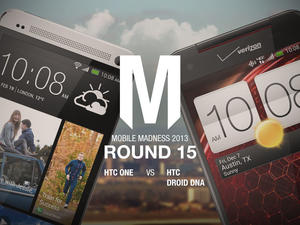 HTC One vs. HTC Droid DNA - Final Round - Mobile Madness 2013