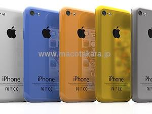 Cheap Apple iPhone and iPhone 5S to Come in a Variety of Colors