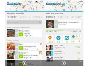 Foursquare Updates App for Windows Phone 8, Gives Special Treatment to Nokia
