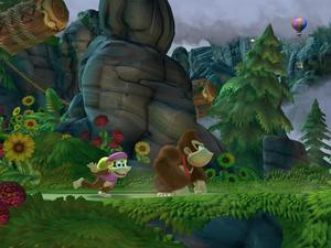 Donkey Kong Country: Tropical Freeze Trailer Features Dixie Kong