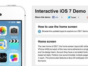 How to Check Out iOS 7... Via Your Browser