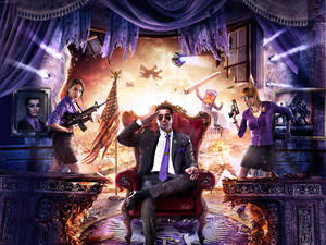 Saints Row IV Standing On Top After Three Weeks in the UK