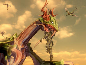 Earth Defense Force 2025 Gallery - There are Dragons Now!?