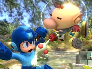 Here Are 10 Screenshots of Captain Olimar and his Pikmin in Smash Bros. for Wii U