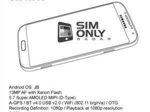 Leaked Galaxy Note III Specs and Sketches Surface Online