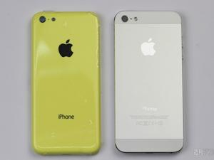 Low-Cost iPhone in Yellow Compared to iPhone 5