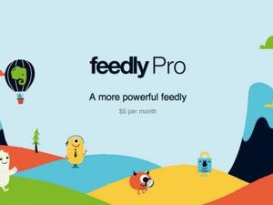 Feedly Pro Now Available to Everyone with Search and More