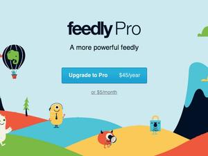 Feedly Launches Pro Tools for $5 a Month