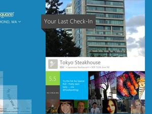Foursquare for Windows 8 Now Available