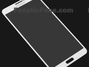Galaxy Note III Front Panel Leaked Again, This Time in White