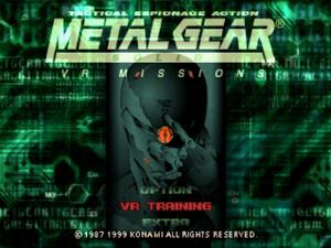 Metal Gear Solid: VR Missions Coming to PSOne Classics