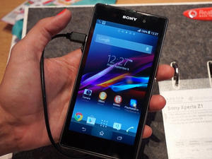 Xperia Z1 Hands-On!