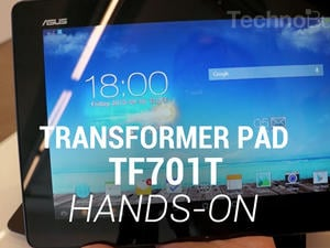 ASUS Transformer Pad TF701T Hands-On!