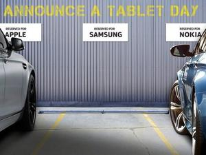 Nokia Bashes Samsung With #AnnounceATabletDay Tweet