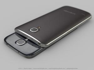 Galaxy Round Compared to iPhone 5s and Galaxy S4 in New Renders