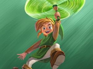 The Legend of Zelda: A Link Between Worlds Gallery and Trailer