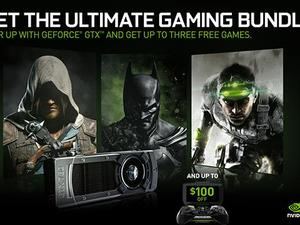 Nvidia's GeForce GTX Holiday Bundles Feature Free Games and Shield Discounts