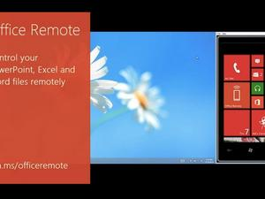 Microsoft Releases Office Remote App for Windows Phone 8