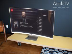Apple iTV Renders Show Off Apple's Curved Future