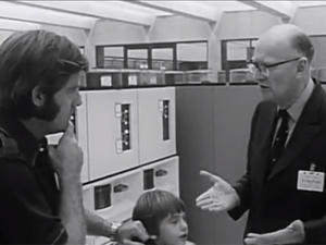 Arthur C. Clarke Predicted Computers of Today in 1974