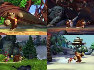 Donkey Kong Country: Tropical Freeze's Characters Shown Off in Gameplay Video