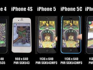 Watch How Much Faster the iPhone 5s Is Than the iPhone 4