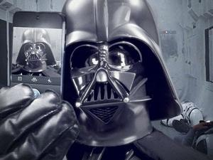 Star Wars Introduces Official Instagram Account With Darth Vader Selfie