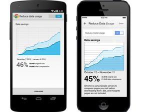 Google Updates Chrome Mobile Apps With Data Compression