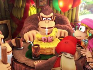 Japanese Donkey Kong Country: Tropical Freeze Overview Trailer Delights