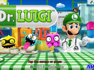 Dr. Luigi Hits Wii U, Here's a Trailer