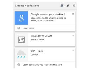 Chrome Canary Gets Google Now Features on Desktop