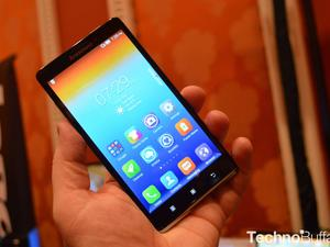 Lenovo Vibe Z Hands-On: 5.5-Inches of LTE Goodness
