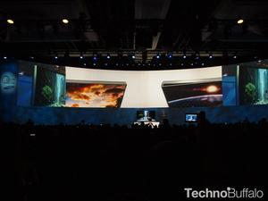 Samsung Brought A Bendable UHDTV To CES