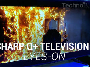 Sharp Q+ Televisions Eyes-On (Sponsored)