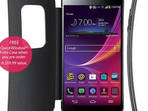 LG G Flex Hits Sprint on Jan. 31 For $300, Pre-Orders Start Today