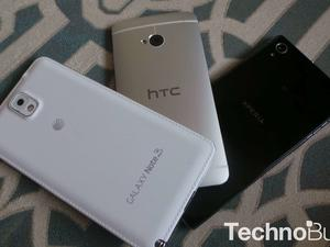 Top 5 Android Smartphones, January 2014