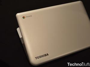 Toshiba Chromebook With 13.3-inch Display Hands-On!