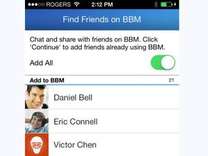"""BBM on Android and iOS Updated With """"Find Friends"""" Feature"""