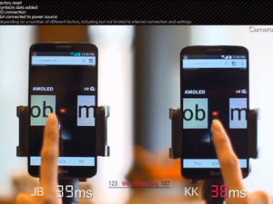 LG Speed Tests Jelly Bean to KitKat on the G2 in a New Video