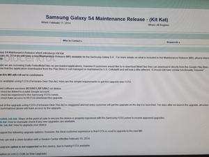 Galaxy S4 Android 4.4 KitKat Updated Expect Feb. 19 for U.S. Cellular