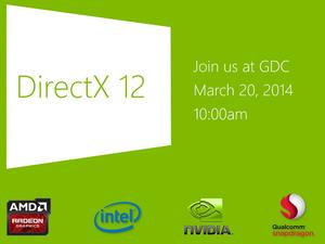 Microsoft to Unveil DirectX 12 at GDC 2014