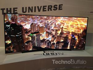 Samsung's Monstrous 105-Inch Curved UHDTV to Cost Under $150,000