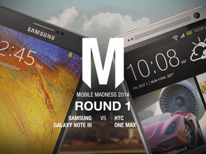 Galaxy Note 3 vs. HTC One Max - Mobile Madness 2014