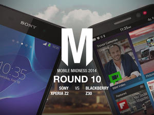Sony Xperia Z2 vs. BlackBerry Z30 - Mobile Madness