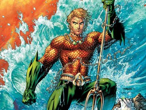 Check out Aquaman's costume in Batman v Superman