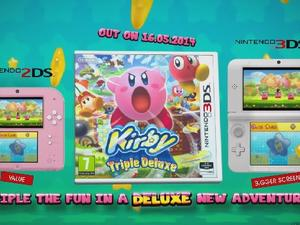 Kirby: Triple Deluxe to be Bundled With Adorable Pink and White 2DS