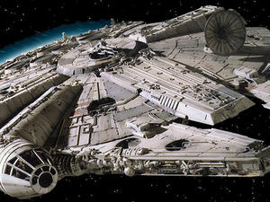 Star Wars Episode VII Millennium Falcon Interior Photos Bring the Awesome