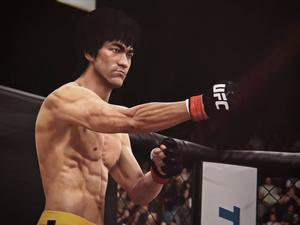 Bruce Lee Tears Through Today's Fighters in EA Sports UFC
