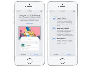 Facebook Can Now Identify Music and TV Shows